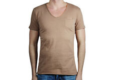 -91% HAPPINESS IS A $10 TEE T-SHIRT UOMO HAPPINESS BASICS MADE IN ITALY