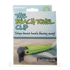 The Beach Towel Clip - Pegs to hold beach towel in place - Beach Accessory