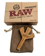 Raw Trident & Double Barrel Wooden Cigarette Holders(New products) by eTrendz