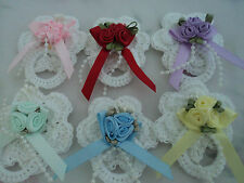 REBORN BABY DOLL CROCHET DUMMY/PACIFIER.JUST ADD YOUR OWN MAGNET DOLLS18-24 inch