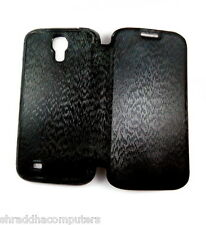 Samsung I9500 Galaxy S4 Luxury Tough Leather Full TPU with Dust plug Case Cover