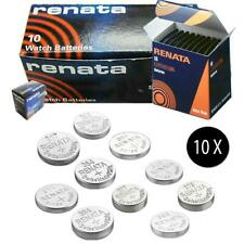 10X Renata Cell battery Swiss made silver oxide / Lithium batteries - All Sizes