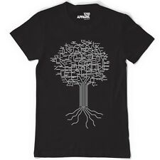 Musical Roots The ultimate music genre tee Rock, Hip Hop, House, Soul, Indie,RnB