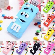 Latest 3D Cute Design Soft Silicon Back Case Cover For Apple iPhone 4 4G 4S
