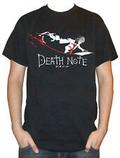 DeathNote - Kira Light Yagami White/Red Blood Pen Black T-Shirt S M L XL XXL