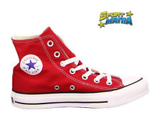 Converse All Star Rosso Unisex Scarpe Shoes Sportive Sneakers M9621C