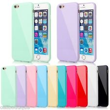 Slim Gel Shockproof TPU Gel Candy Cover For Apple iPhone 4s 5s 6s 7 8 se 5c