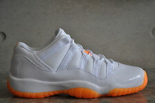 "Nike Air Jordan 11 Retro ""Citrus"" Low GG - White / White-Citrus"