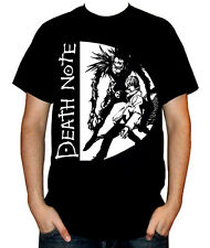 DeathNote - Light Yagami Kira Ryuk Men's Black Anime T-Shirt S M L XL XXL