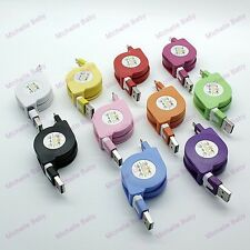 Retractable Micro USB Cable Tensile Data Sync Charger for Samsung S6 S7, LG, HTC