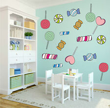 ADESIVI MURALI WALL STICKERS CAMERA BIMBI CANDY