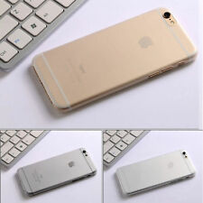 Transparent Matte Frosted Clear Hard Cover Shell Case For Apple iPhone 6/6s