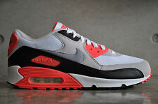 Nike Air Max 90 Infrared OG 2010 - White/Cement Grey-Infrared-Blk