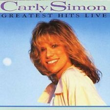 Simon, Carly - Greatest Hits Live NEW CD