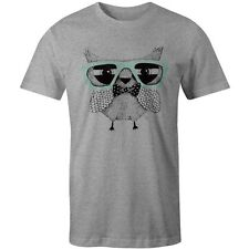 Retro Owl Print T-Shirt Classic Swag Hipster Celtic Vintage Swag Tee New