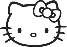 Vinilo decorativo hello kitty pegatinas stickers adhesivos calcas  paredes