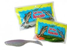 "BASS ASSASSIN Sea Shad 4"" / 10cm / 10pcs / soft baits / esche morbide COLORI!"
