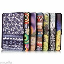 "Designer Ultra Slim Flip case cover for Amazon Kindle 6"" glare free wifi 7th gen"