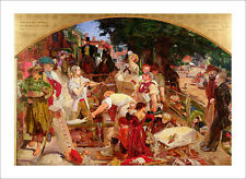 Brown - Work - fine art giclee print poster - various sizes