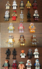 2Y STAR WARS MINI FIGURES Lego and Custom Figures clear transparent clone troope