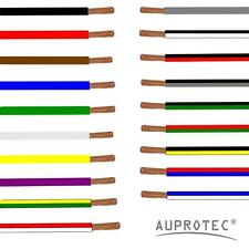 Automotive Wire 0.75 - 50 mm² Thin Wall Cable (AWG1-20) single core 1m 5m or 10m