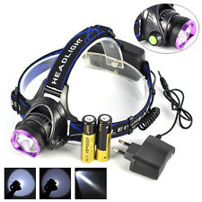 Rechargeable 5000Lm XM-L T6 LED Kopflampe Fackel  Fishing 18650 head lamp Torch