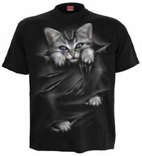 SPIRAL DIRECT BRIGHT EYES T Shirt/Funny/Cat/Kitten/Cute/Funny/Unisex/Top/Tee