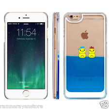 CUTE SWIMMING DUCK CASE COVER FOR APPLE IPHONE 5/5S/6/6+ HARD BACK COVER