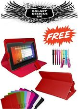 """New Universal Leather Stand Case Cover Pouch For 7"""" 7 Inch Tab Android Tablet PC"""