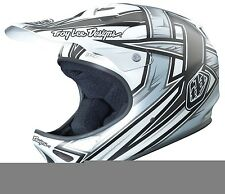 Troy Lee Designs Downhill-Helm MTB Downhill Freeride BMX D2 Proven - White Neu