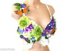 Crazybras - Carnival and Party Wear Bra - Woodland Nymph: UK 34D, 36C, 36D, 38D