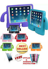3D kids cute shockproof EVA foam stand cover case for iPad 6 Air 2