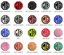 MG MGF ZR ZS MK1 Front & Rear Insert Badges To Fit 59mm Emblems 19 Colours