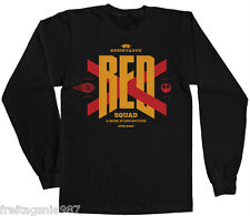 STAR WARS Episode VII THE FORCE AWAKENS  RED SQUAD  longsleeve-shirt officially