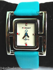 Forest Ladies Women New fashion Leather Belt Wrist Watch