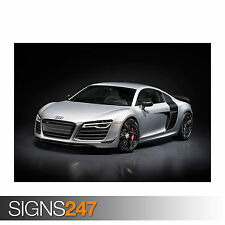 AUDI R8 COMPETITION 2015 (0088) Poster Print Art A0 A1 A2 A3 - 2nd HALF PRICE!