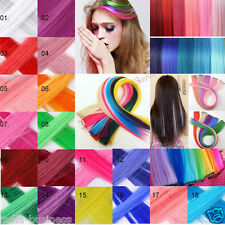 New Artifice Colorful Fake Clip On Off Hair Extension Hair Clip Hair Accessories