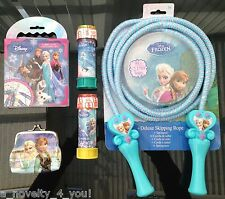 Disney Frozen Anna Elsa Olaf Birthday Christmas Gift Sets Coin Purse Bubbles etc