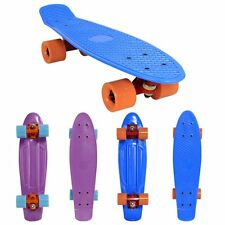 "22"" Retro Skateboard deck Skate Pennyboard Komplett Mini board cruiser board Fun"