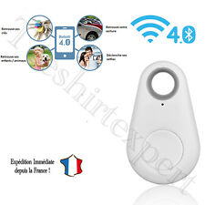 ITAG BLANC UNIVERSEL TRACEUR ANTI PERTE Cles Clefs bluetooth Key Finder alarme