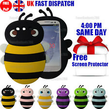 CUTE BEE SILICONE CASE & FREE SCREEN PROTECTOR For Samsung Galaxy S3 i9300 i9305