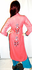 Shalwar Kameez Salwar Pakistani Designer Stitched Indian 3pc Jilbab Sari Suit 14