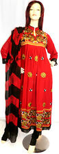 Shalwar Kameez Salwar Pakistani Designer Red Black Stitched Sari Dress suit 14