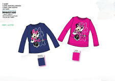 OFFERTA MAGLIETTA T.SHIRT BIMBA MINNIE TOPOLINA DISNEY ORIGINALE COLORATA