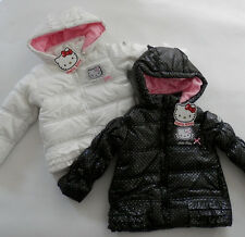 HELLO KITTY Gr. 92/98 104 110/116 122/128 Winterjacke Parka Jacke Steppjacke
