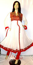 Shalwar Kameez Pakistani Indian Designer Anarkali Churidar Stitched 3pc Dress 8