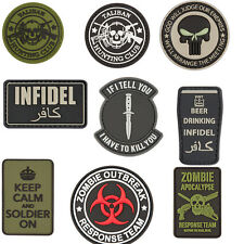 Airsoft Paintball Military Velcro Security Army Novelty Tactical Patches
