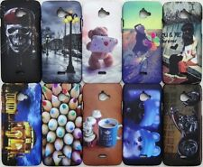 PREMIUM IMPORTED TOUCH FEEL NIGHT GLOW HARD BACK CASE COVER FOR INFOCUS M350