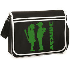 Banksy Boy Meets Girl Retro Messenger Bag Satchel Holdall Graffiti Artist TS663