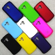 IMPORTED MATTE FINISH HARD BACK CASE COVER 4 SAMSUNG GALAXY S DUOS 2 S7562 S7582